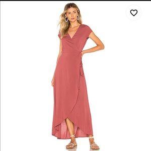 L*Space Goa Wrap Front Currant Dress NEW